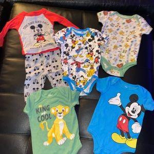 Boys 12 month Disney bundle